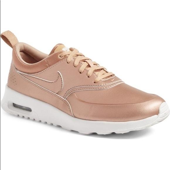6109d9aef186 Nike Women s Air Max Thea Premium Rose Gold